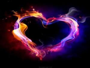 flame heart